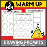 5 Minute Warm-Up Drawing Prompts