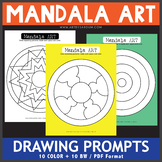 Mandala Drawing Prompts