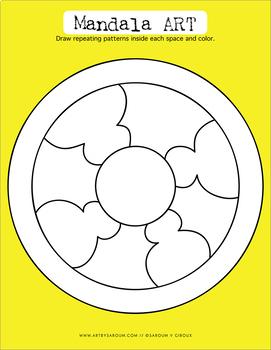 Mandala Drawing Prompts