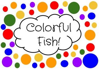 Colored Fish Clipart