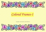 Colored Frames and Borders-1