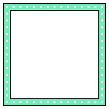 Square Frames and Borders Clip Art