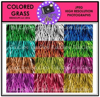 Colored Grass Photo Set