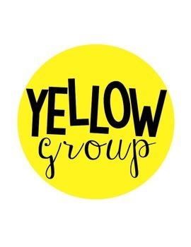 Colored Group Signs