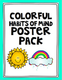 Colorful Habits of Mind Posters