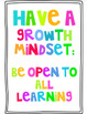 Colored Habits of Mind Posters