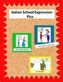 Italian Classroom Expression Pics