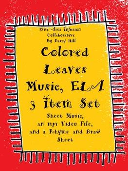 Colored Leaves Music, ELA: 3 Item Set