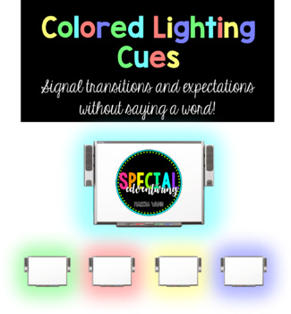 Colored Lighting Cues