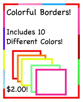 Colored Lined Borders