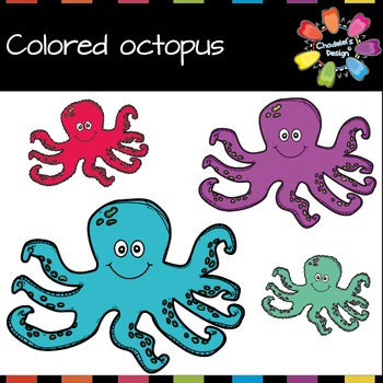Colored Octopus