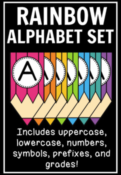 Colored-Pencil Banner Set: Letters, Numbers, & Symbols (500+ Pages!)