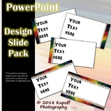 Colored Pencil Borders - PowerPoint template
