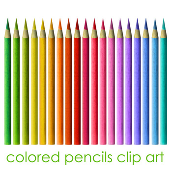 Colored Pencil Clip Art