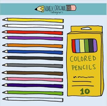 Colored Pencil Clipart