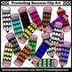 Primary Colors Clip Art, Pencil Clipart for Commercial Use SPS