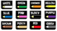 Colored Pencil Drawer Labels