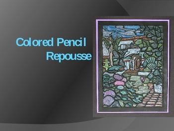 Colored Pencil Repousse