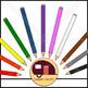 Colored Pencils Clip Art {CU - ok!}