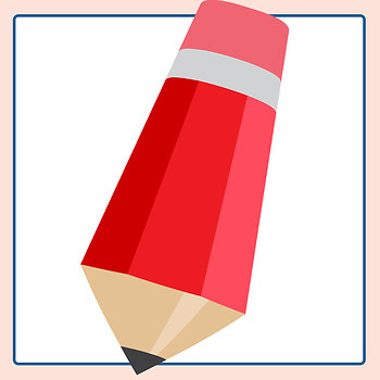 Colored Pencils Clip Art Set for Commercial Use
