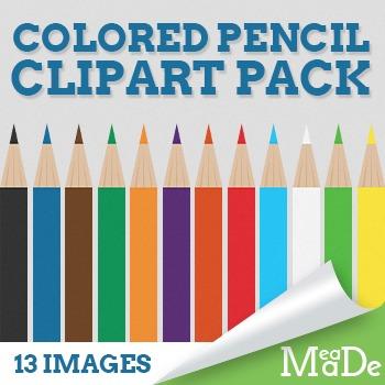 Colored Pencils Clipart