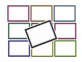 Colored Polka Dot Borders