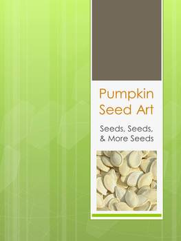 Colored Pumpkin Seed Art