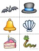 Colored Rhyming Picture Card Set - 15 Rhyme Pairs