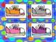 Colored Shoes {A Color Match Center Sort}