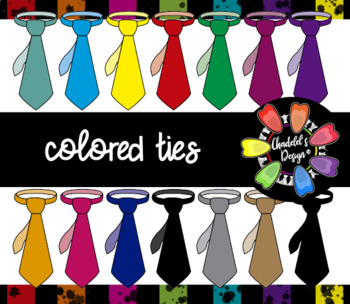 Colored Ties