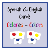 Colores - Colors / Spanish and English Cards