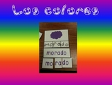Colores/ Colors in Spanish