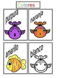 Colores Picture Cards ELL