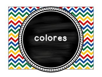 Colores - Spanish Colors