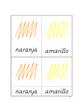 Colores en español (print font)