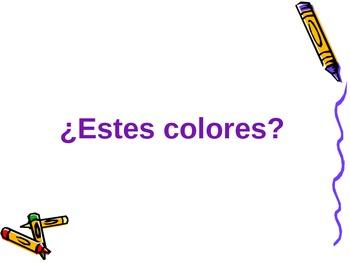 Colores - practica PPT