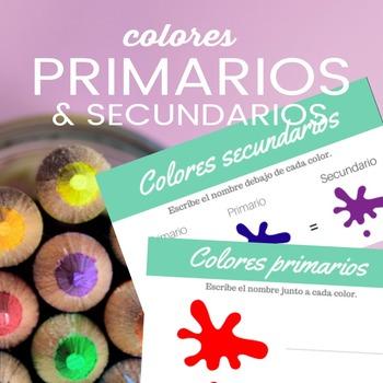 Colores primarios y secundarios (imprimibles)