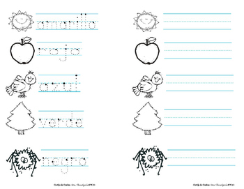 Colores: Writing & tracing in Spanish, K-1