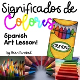 Colores y Significados - Creative Art Activity (in Spanish)