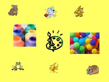 Colores y animales