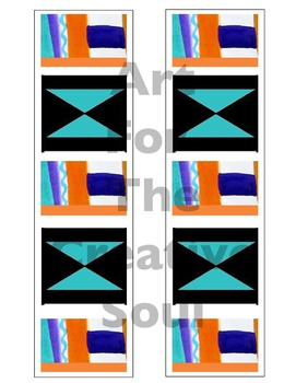 Colorful African Patterned Bulletin Board Trim