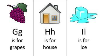 Colorful Alphabet Cards