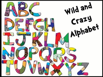 Colorful Alphabet Clipart graphics images