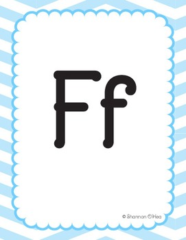 Colorful Alphabet Flash Cards - ABC's