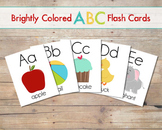 Alphabet Flash Cards/Posters- Uppercase and Lowercase