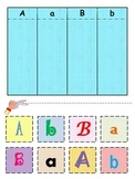Preschool - Kindergarten - Alphabet Sort - Cut and Paste