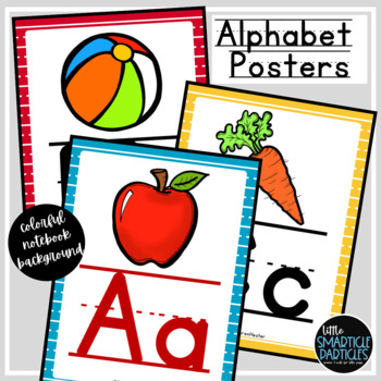 Alphabet Posters: Colorful