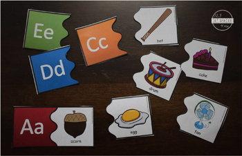 Colorful Alphabet Puzzles