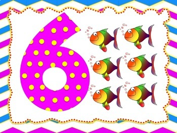Colorful Alphabet and Numbers Flashcards (Phonics Flashcards)