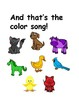 Colorful Animals (Visual aid to go with Color Farm)